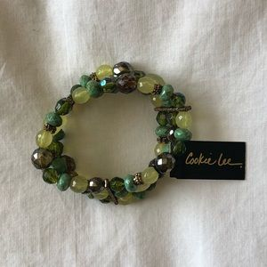 Green Cookie Lee Stretchable Bracelet